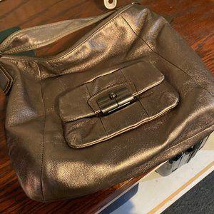 Coach Women's Silver Hobo Bag